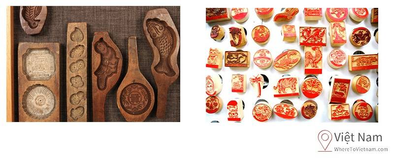Personalized wooden stamps